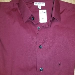 NWT express extra slim size small
